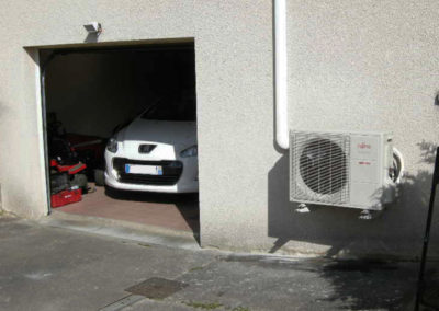 Unité extérieure de climatisation reversible