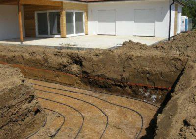 Capteur geothermique