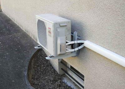 Unité extérieure climatisation reversible