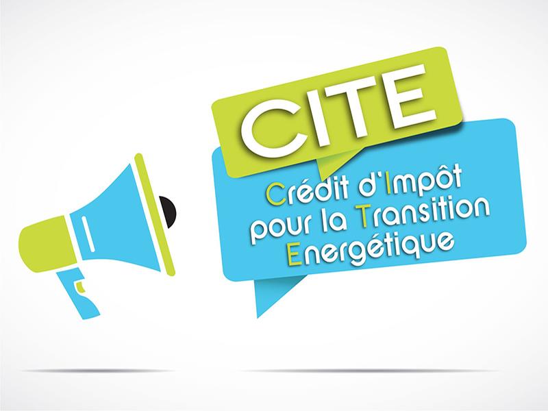 Crédit d'impot pour la transition énergetique-CITE